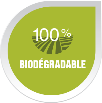 100% biodégradable